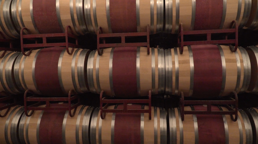 Barrels from Bodegas Montecillo