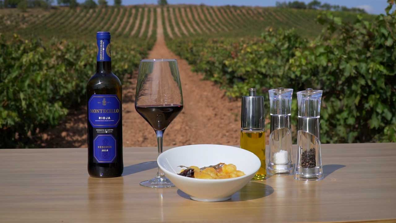 Recipes from Rioja: Potatoes with chorizo