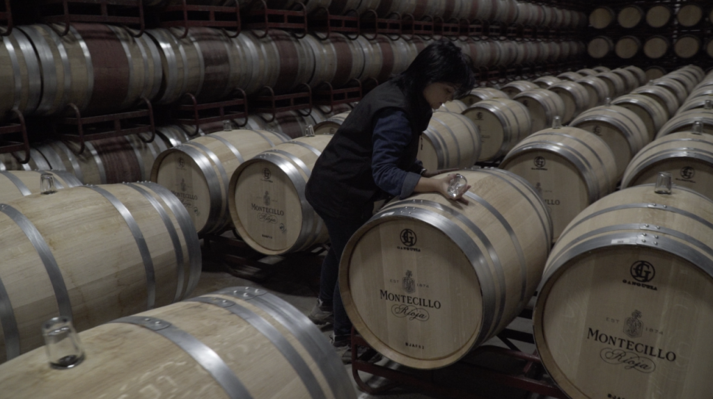 In barrel fermentation - Merche's Diary