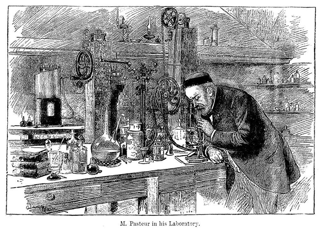Algunos nombres propios de la historia del vino - Louis Pasteur