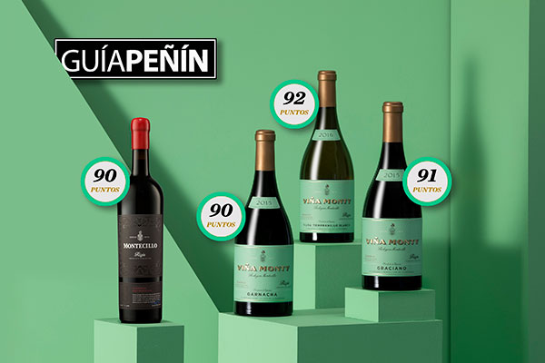 EXCELLENT SCORES FOR FOUR BODEGAS MONTECILLO WINES IN 2021 PEÑÍN GUIDE