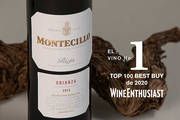 Montecillo Crianza 2016, Nº 1 on Wine Enthusiast's BEST BUY list