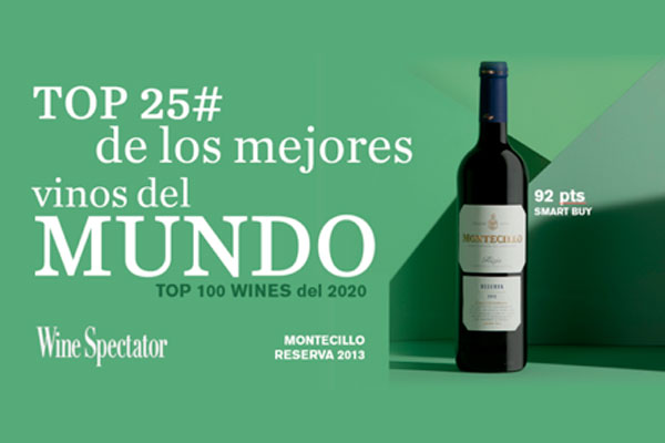 Montecillo Rioja Reserva 2013 among the world's top 25 wines